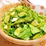グリーンサラダ(バルサミコドレッシング)