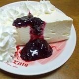 ブルーベリーレアチーズケーキっ♪