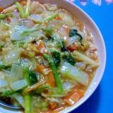 アスパラと白菜の中華煮