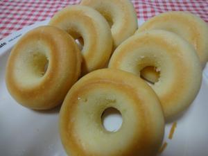 だんご粉とHMで♪アーモンド風味の焼きドーナツ