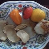 松茸の焼き物