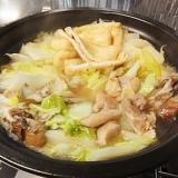 簡単、鶏鍋