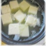 とろとろの温泉湯豆腐がおうちで簡単!