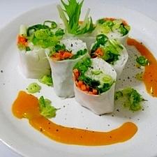 「生春巻き」で野菜をたくさん食べよう