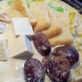 紀文の豆乳鍋☆シメはらーめん♪