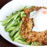 【簡単、おもてなしにも★】ジャジャ麺★半熟卵のっけ