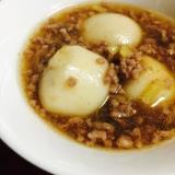 里芋と合挽きミンチの生姜あんかけ