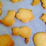 子供と作る♪マーガリンで☆きな粉クッキー
