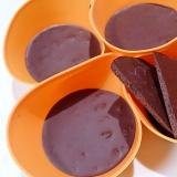 カカオニブとココナッツオイルのカリサクチョコアイス