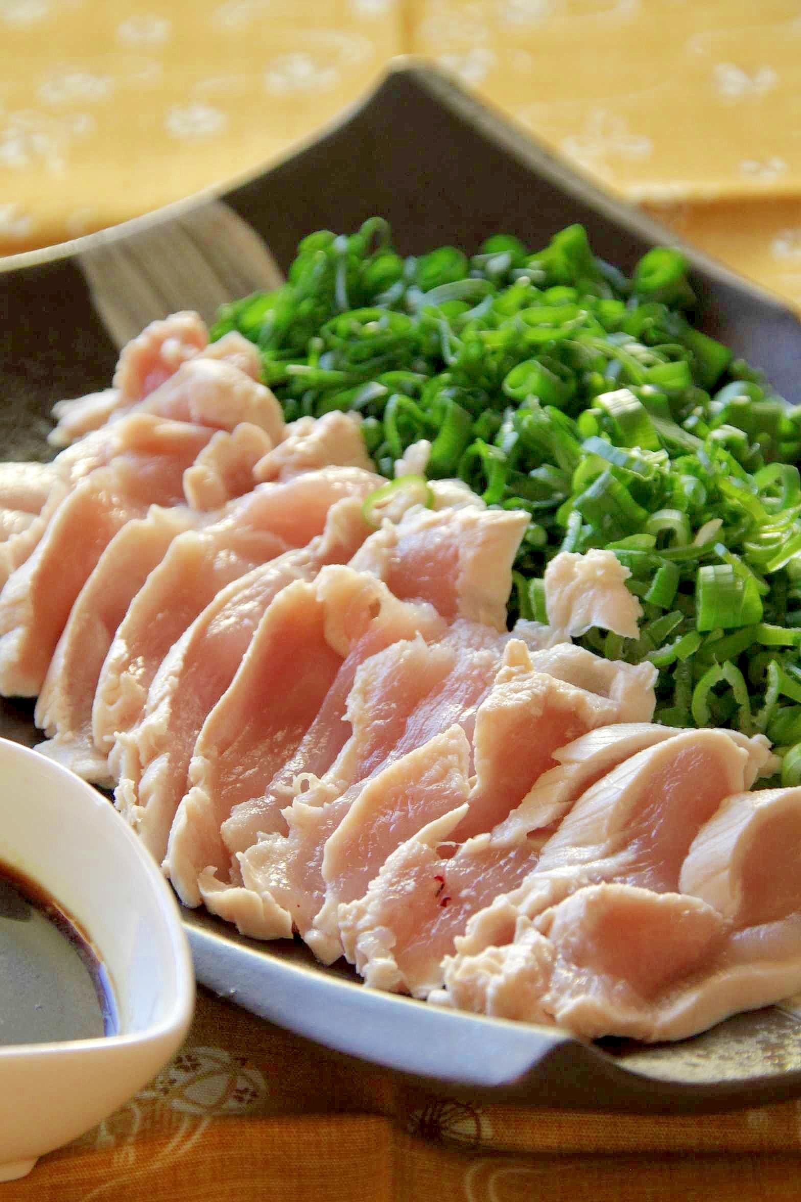おつまみレシピ『鶏のネギまぶし』