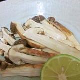 クラっとする美味しさ♪ 「松茸のホイル焼き」