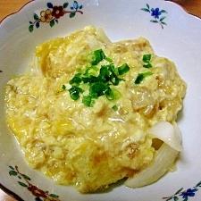 フライパンde豆腐の玉子とじ