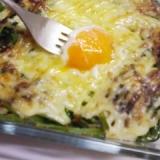 ほうれん草と卵のマヨネーズ焼き★