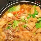 簡単美味しいキムチ鍋