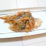 野菜たっぷり~白身魚のあんかけ