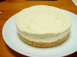 夏は冷たく冷やして レアチーズケーキ