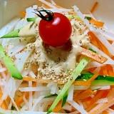 有名ハンバーグ店の味を再現!大根とニンジンのサラダ
