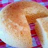 炊飯器で*ふわふわメープルケーキ(HM使用)