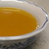 人参とキャベツ、エノキの冷製スープ