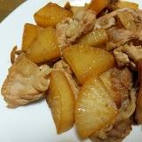 豚肉と大根と舞茸の甘辛炒め煮