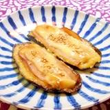 茄子のハムチーズのせ☆味噌マヨ焼き