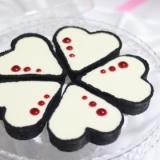 黒いタルトのレアチーズケーキ【No.293】