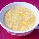 とろふわ~♪白菜かきたま中華スープ