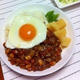 大豆たっぷり!健康キーマカレー☆