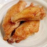 鶏手羽中のパリッと焼き☆コンソメ塩味