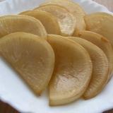 フライパンで蕪のソテー(バターしょうゆ味)