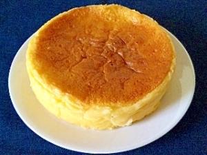 簡単スフレチーズケーキ♪