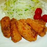 カジキマグロの唐揚げ☆ニンニク醤油味♪