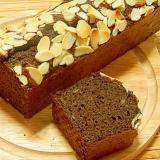 ノンバター&オイル・米粉チョコバナナパウンドケーキ