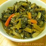 簡単おいしい!野沢菜の炒め煮