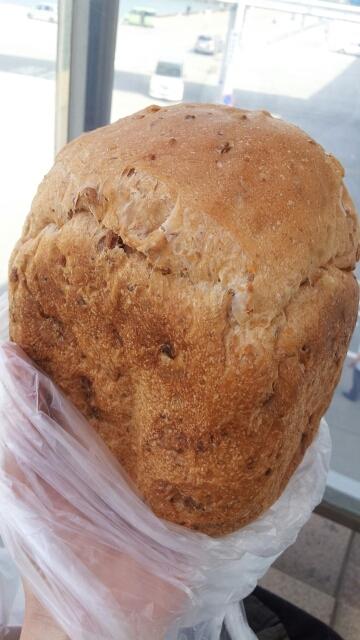 HBで簡単!ふわふわくるみ食パン