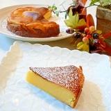 簡単!スライスチーズdeさつま芋チーズケーキ。