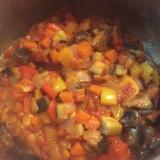 コロコロ野菜のラタトゥイユ風煮込み