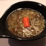 【食物繊維たっぶり】もずくとキャベツのお味噌汁