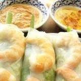 タイ料理? 生春巻き(タレ2種)