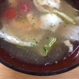 ミニトマト&レタス(*^^*)冷製スープ☆