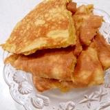 ココナッツオイル練りこみしっとり卵パンケーキ