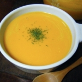 レンジで簡単♪かぼちゃのスープ