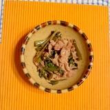 空芯菜と豚の炒め物♪