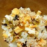 高菜と卵の混ぜご飯