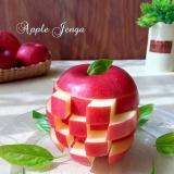 パーティーにオススメ♪丸ごとリンゴで『ジェンガ』