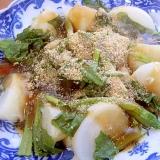 有名日本料理店の蕪の煮物もどき♪(精進料理)