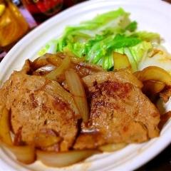 生姜ジャムで簡単豚のしょうが焼き