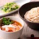 タイ風スープのつけうどん