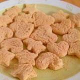 子供と作る 型抜き遊び ☆食パンラスク☆