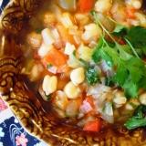 トルコ料理★冬には、ひよこ豆料理